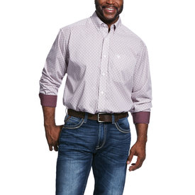 Ariat Men's Wrinkle Free Painton Button Down Shirt