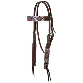 Circle Y Beaded Infinity Headstall