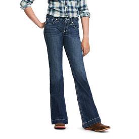 Ariat Girl's R.E.A.L. Stretch Heirloom Wide Leg Jean