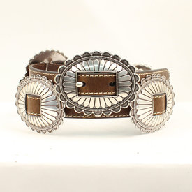 Nocona Belt Co. Women's Concho Belt