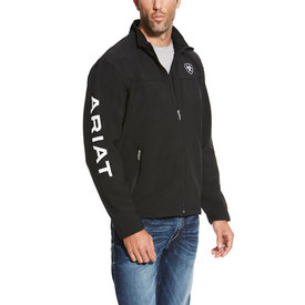 Ariat Men's Team Softshell Jacket with White Logo