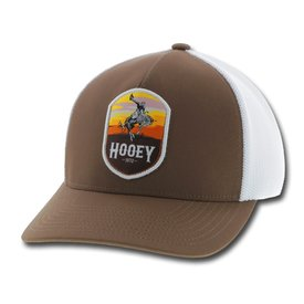 Hooey Men's Brown and White Cheyenne Cap