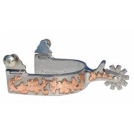 "Professionals Choice 1"" Copper Design Spur"