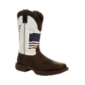 Durango Men's Distressed Flag Rebel Boot