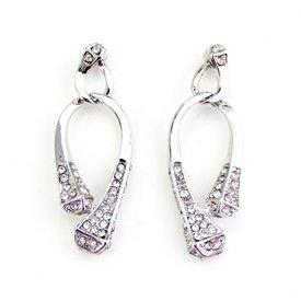 Wyo-Horse Silver Horseshoe Nails Earrings