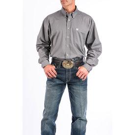 Cinch Men's Grey Button Down Shirt