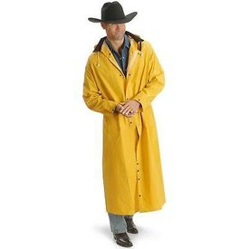 Double S Yellow Rain Slicker
