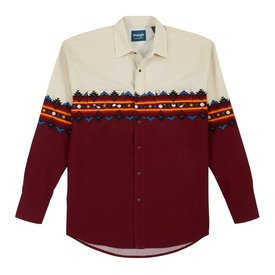 Wrangler Men's Checotah Snap Front Shirt