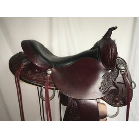 High Horse Mesquite Round Skirt Trail Saddle