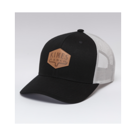 Kimes Ranch Black Dressage Trucker Cap