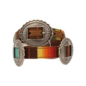 Ariat Serape Concho Girls Belt