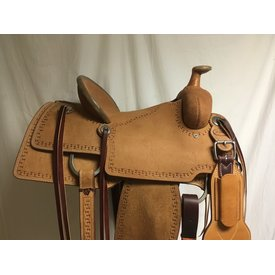 Pro Custom Saddlery Roughout Pencil Roll Roper