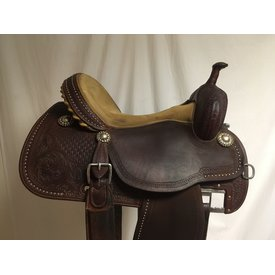 Martin Saddlery Used Crown C 2 Tone Barrel Saddle