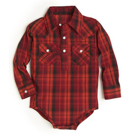 Wrangler Baby Red and Orange Bodyshirt