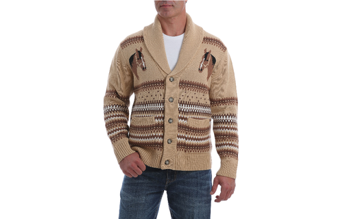 Cowboy on Horse Sweater Clips CLEARANCE