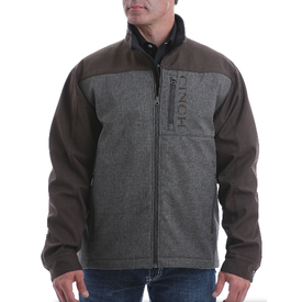 Cinch Men's Brown and Grey Concealed Carry Bonded Jacket
