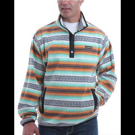 Cinch Men's Multi-Color Fleece Pullover