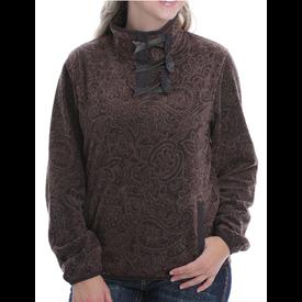 Cinch Women's Printed Fleece Pullover
