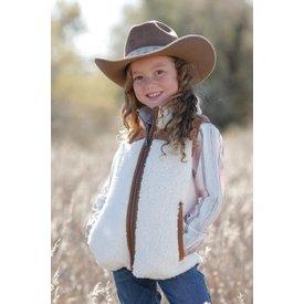 Cinch Girl's Sherpa Vest