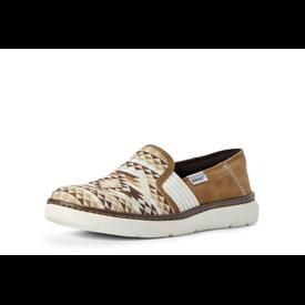 Ariat Women's Tan Diamond Aztec Ryder Shoe