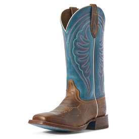 Ariat Women's Tobacco Brown/Harbor Blue Circuit Shiloh Boot C3