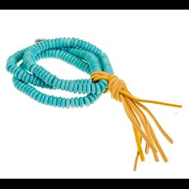 West & Co. 3 Strand Turquoise Beaded Bracelet