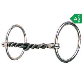 Reinsman Large Twist O Ring Snaffle