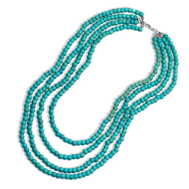 Montana Silversmiths Layered Turquoise Bead Necklace