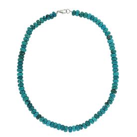 Montana Silversmiths Boho Blue Beaded Strand Attitude Necklace