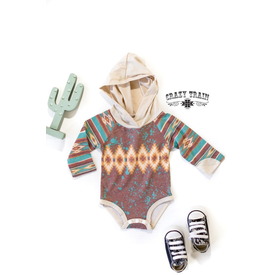 Crazy Train Infant Montana Skies Hoodsie