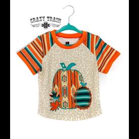 Crazy Train Kids Pumpkin Spice Girl Tee
