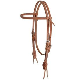 "Martin MARTIN 1/2"" STITCHED BROWBAND HS HBP31SQB"
