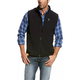 Ariat Men's Black Vernon 2.0 Softshell Vest