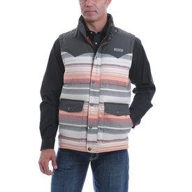 Cinch Men's Blanket Stripe Quilted Vest