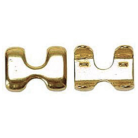 """American Heritage Equine 7/8"""" Rope Brass Clamp"""