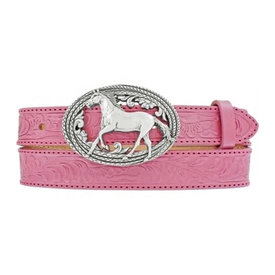 Justin Girl's Pink Lil Beauty Belt