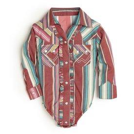 Wrangler Baby Multi Stripe Bodyshirt