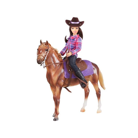 Breyer Horses Western Casual Horse and Rider Set