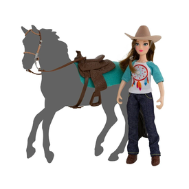 Breyer Horses Cowgirl Natalie Play Set