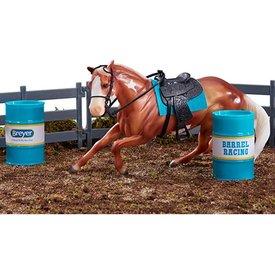Breyer Horses Breyer Horses Classic Barrel Racing Set
