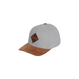 Cinch Men's Grey and Brown Flexfit Cap