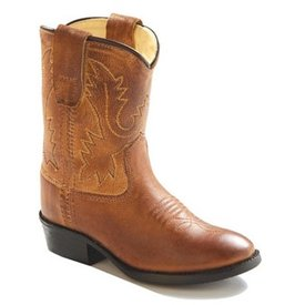 Old West Toddler's Tan Canyon Western Boot