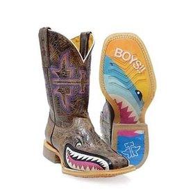 Tin Haul Kid's I Don't Bite Boots