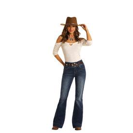 Rock & Roll Denim Women's High Rise Trouser