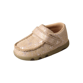 Twisted X Infant's Snake Print Driving Mocs