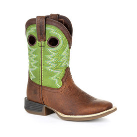 Durango Youth's Lil' Rebel Pro Lime Western Boot