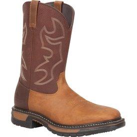 Rocky Men's Rocky Original Ride Steel Toe Western Boot RKYW040 C3
