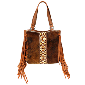 Trinity Ranch Hair on Hide Conceal Carry Tote