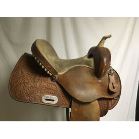 Frontier Saddlery Used Barrel Saddle