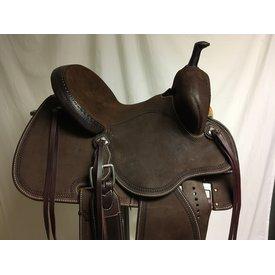 Martin Saddlery Chocolate Stingray Barrel Saddle